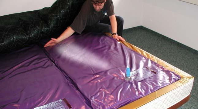 wasserbett automatisch entl ften klimaanlage und heizung. Black Bedroom Furniture Sets. Home Design Ideas